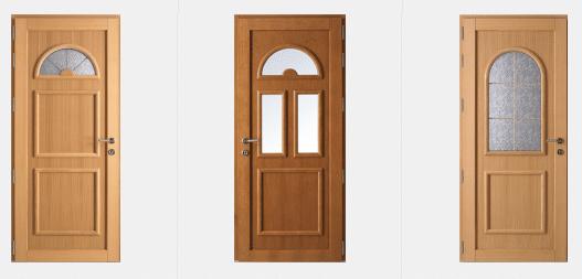 Portes d'entrée Traditionnelles GREEN FERMETURES 1