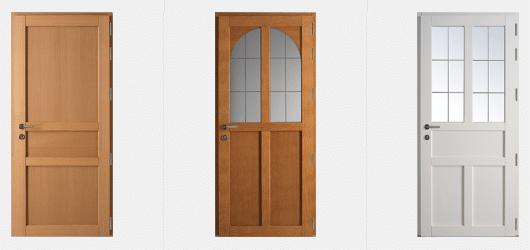 Portes d'entrée Traditionnelles GREEN FERMETURES 3