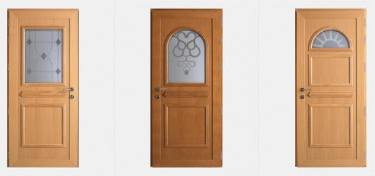 Portes d'entrée Traditionnelles GREEN FERMETURES 4